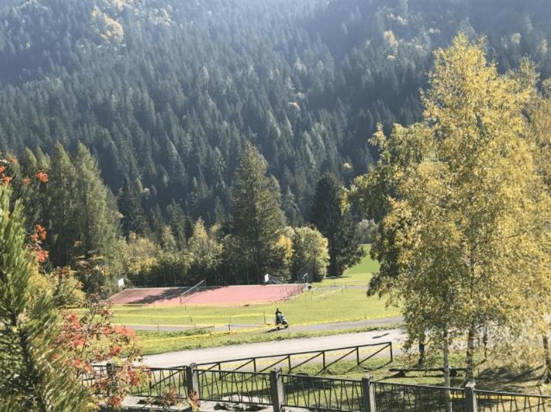 giardino villaggio dolomiticp