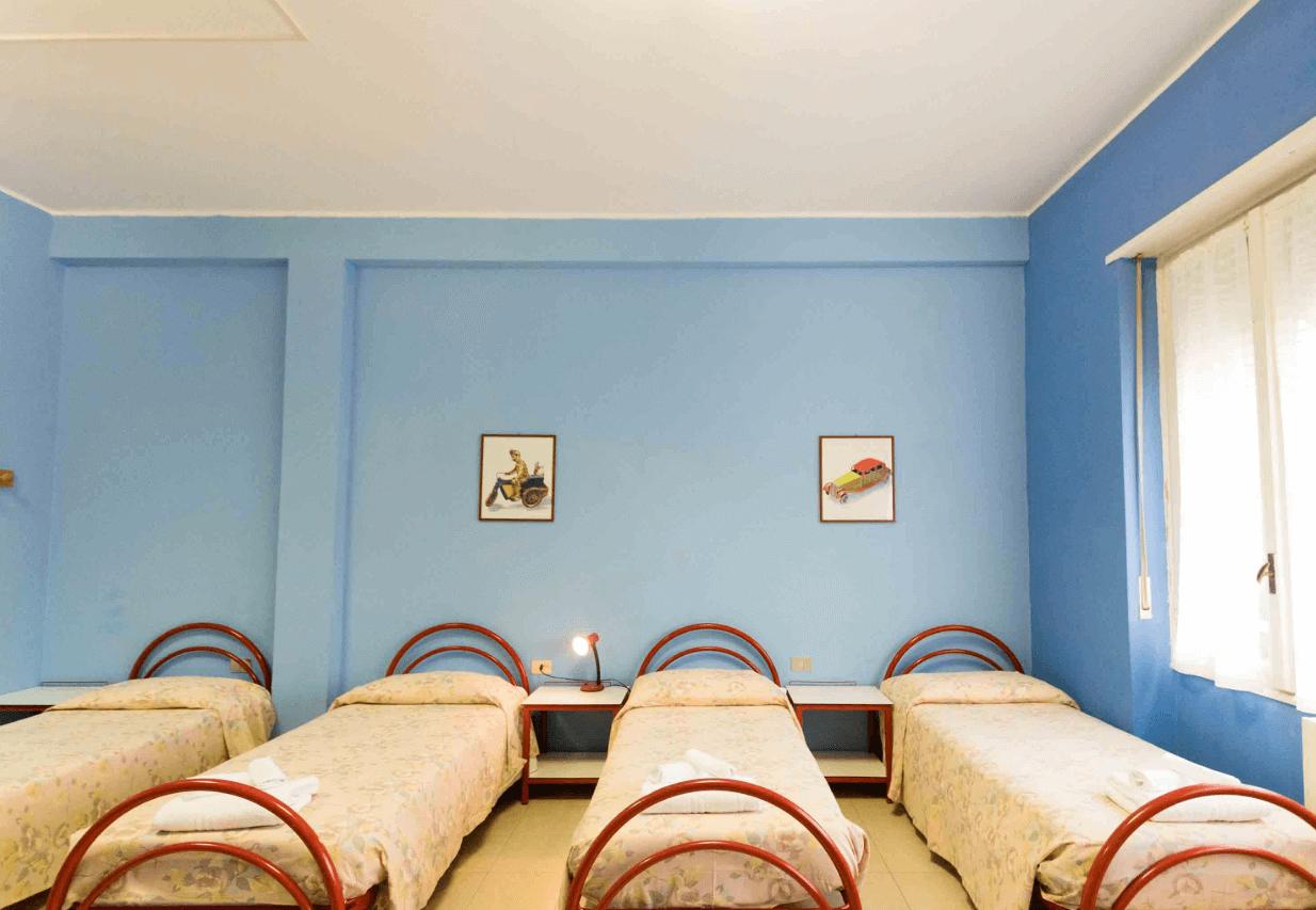 camere villa sorriso